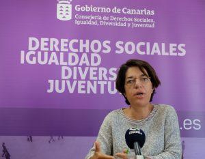 La viceconsejera de Igualdad, Sylvia Jaén