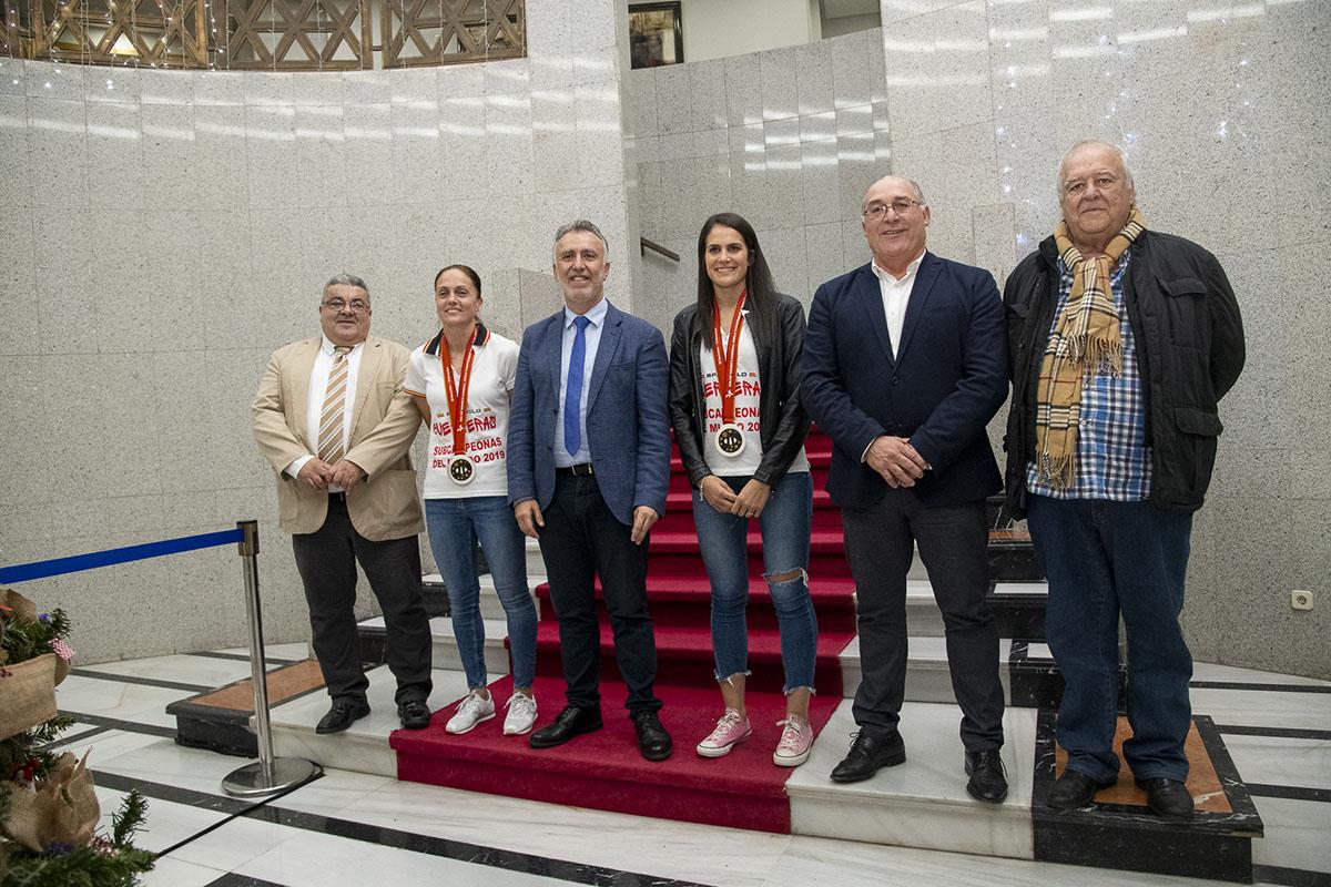 Gobierno de Canarias balonmano mundial plata Japón