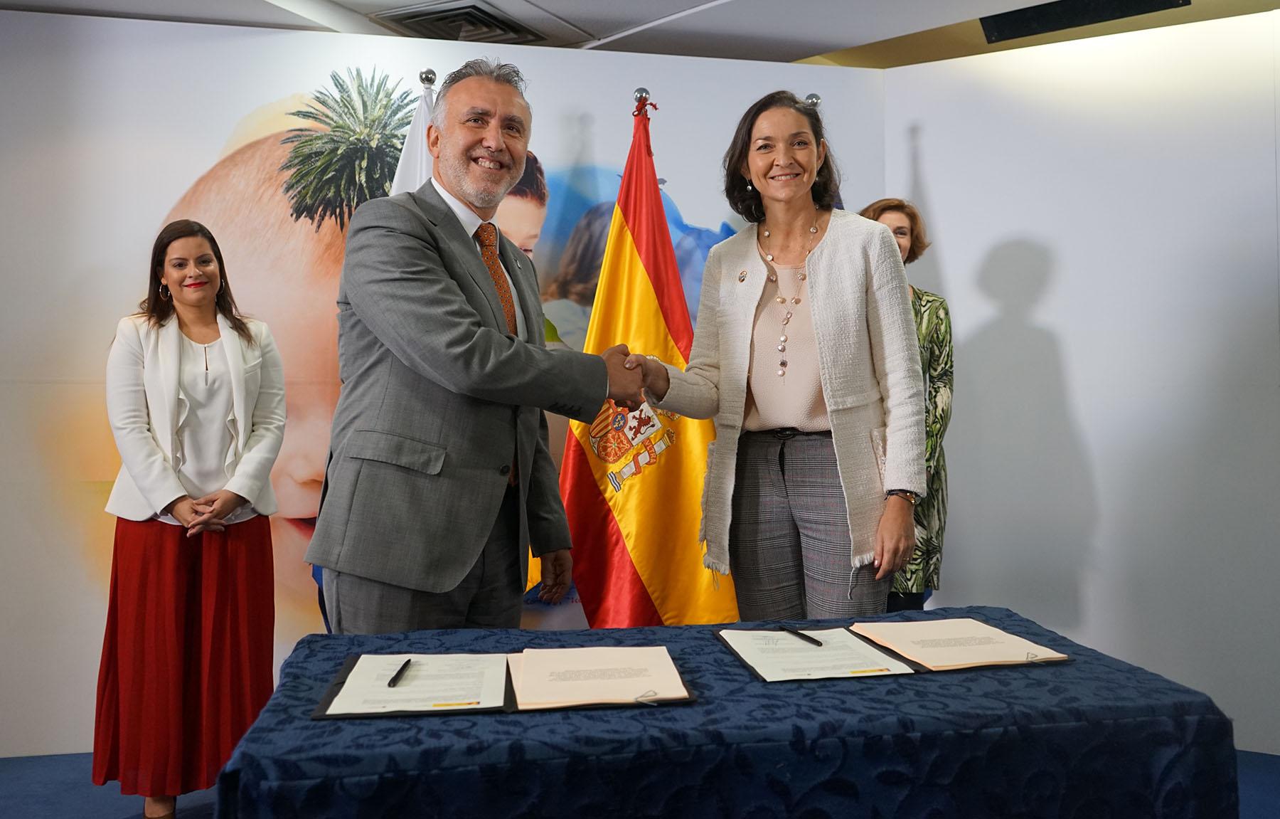 Canarias ministerio turismo Torres Maroto