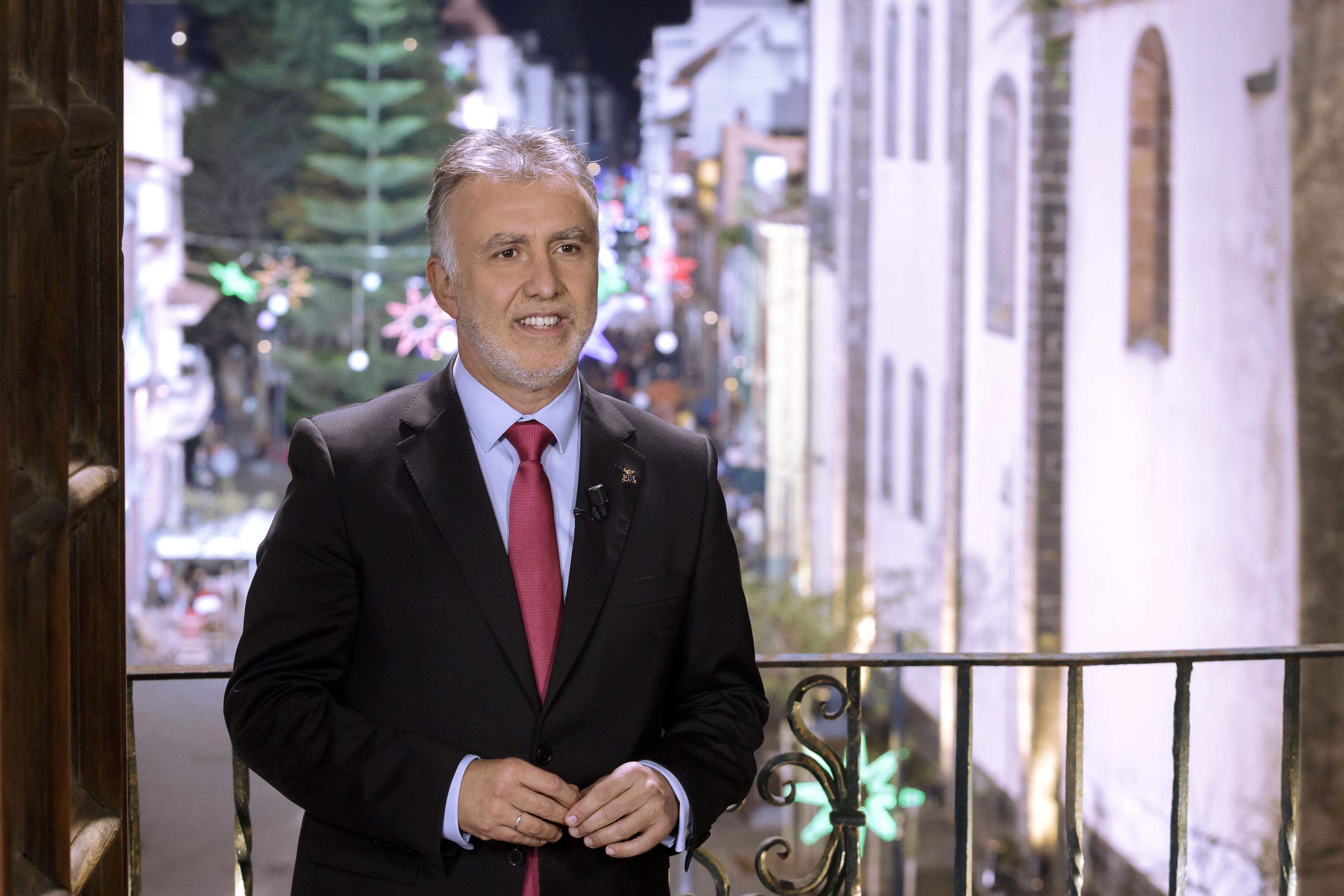 Mensaje de Fin de Año del presidente de Canarias 2019