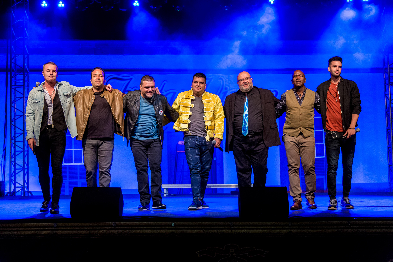 Concierto de Vocal Siete en el Teatro Guiniguada