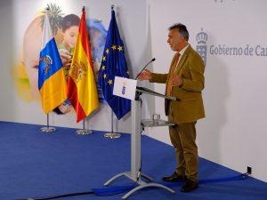 El presidente de Canarias hace balance de 2019  tras el último Consejo de Gobierno del año