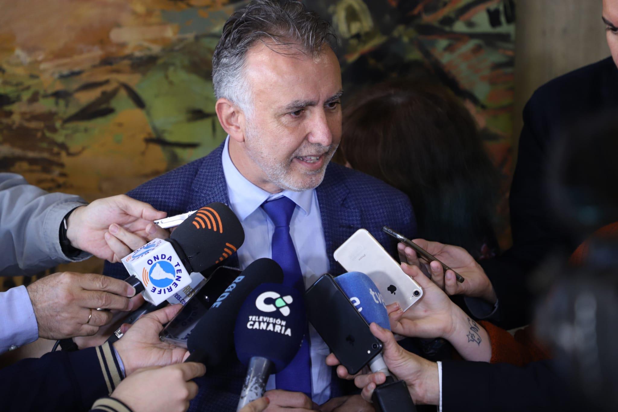 Ángel Víctor Torres - presidente de Canarias