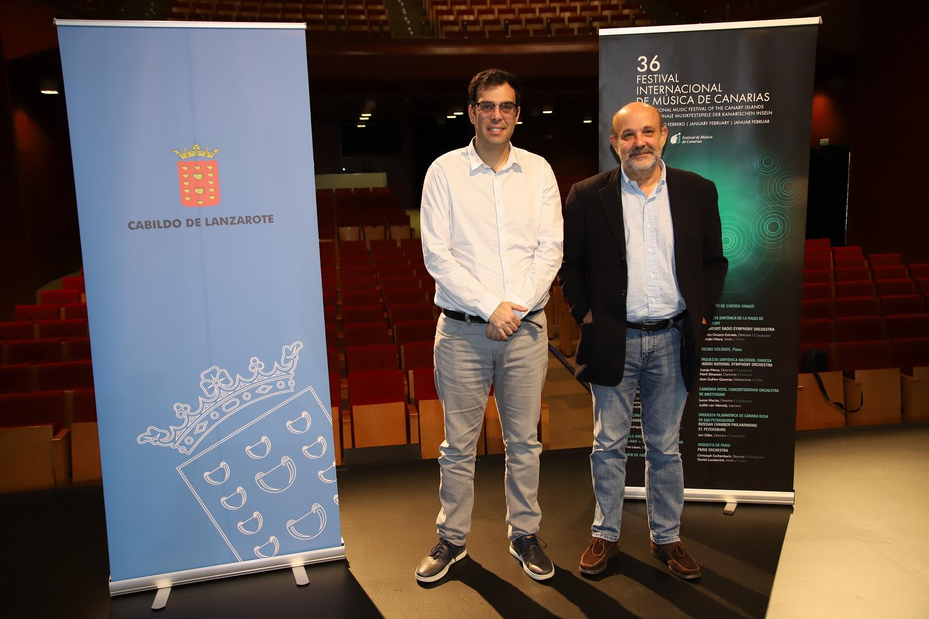 Presentación del 36º FIMC en Lanzarote y La Graciosa