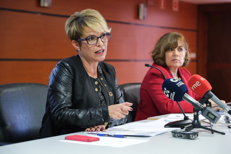 Elena Máñez y Dunnia Rodríguez