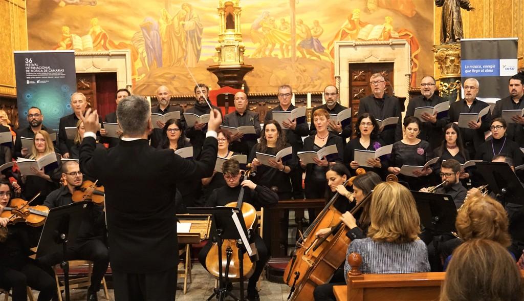 Coro Ainur en el concierto ofrecido en Gran Canaria