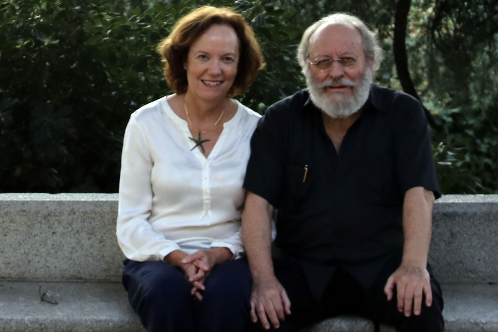 Arturo Reverter y Victoria Stapells
