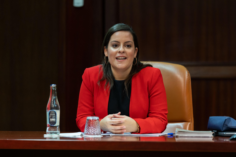 La consejera de Turismo, Yaiza Castilla