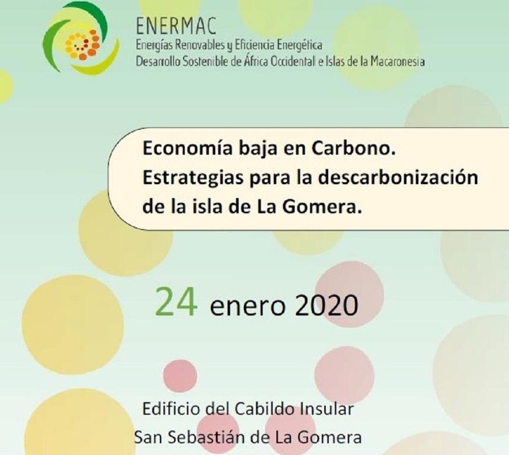 Cartel del Seminario Economía baja en carbono