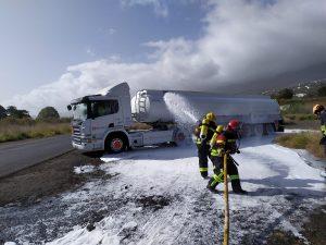 Práctica del curso para bomberos