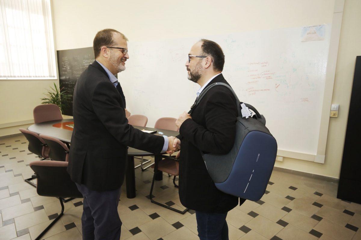 Reunión entre Transición Ecológica y la ULGPC