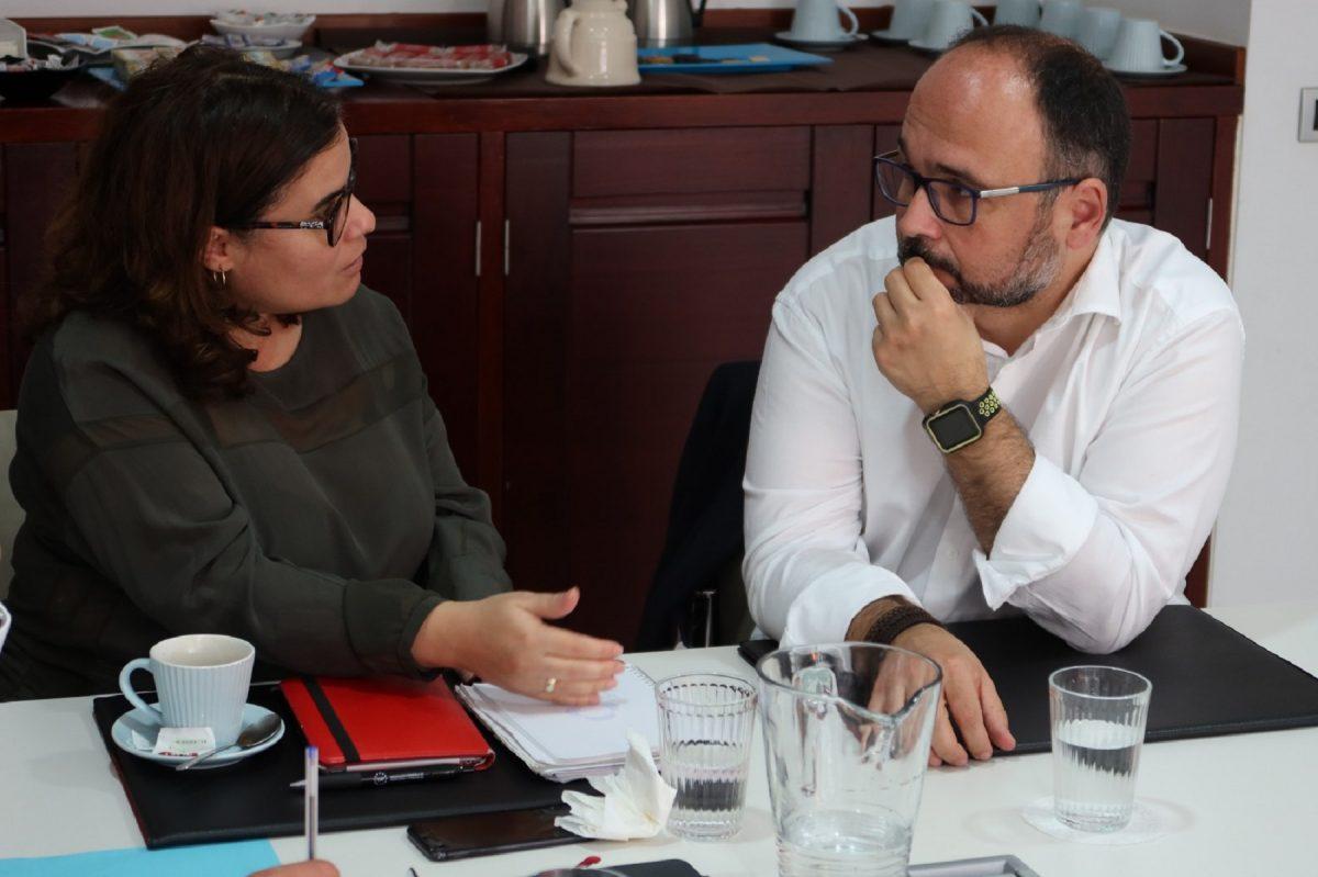 Reunión de José Antonio Valbuena con la Fecam