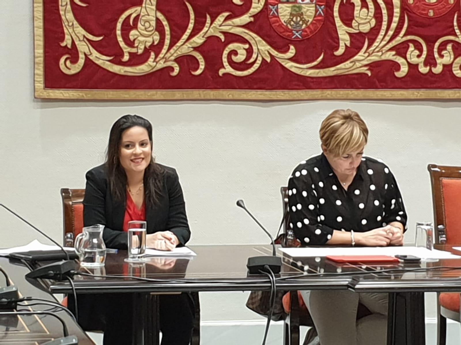 La consejera de Tursimo comparece en la Comisión del Parlamento