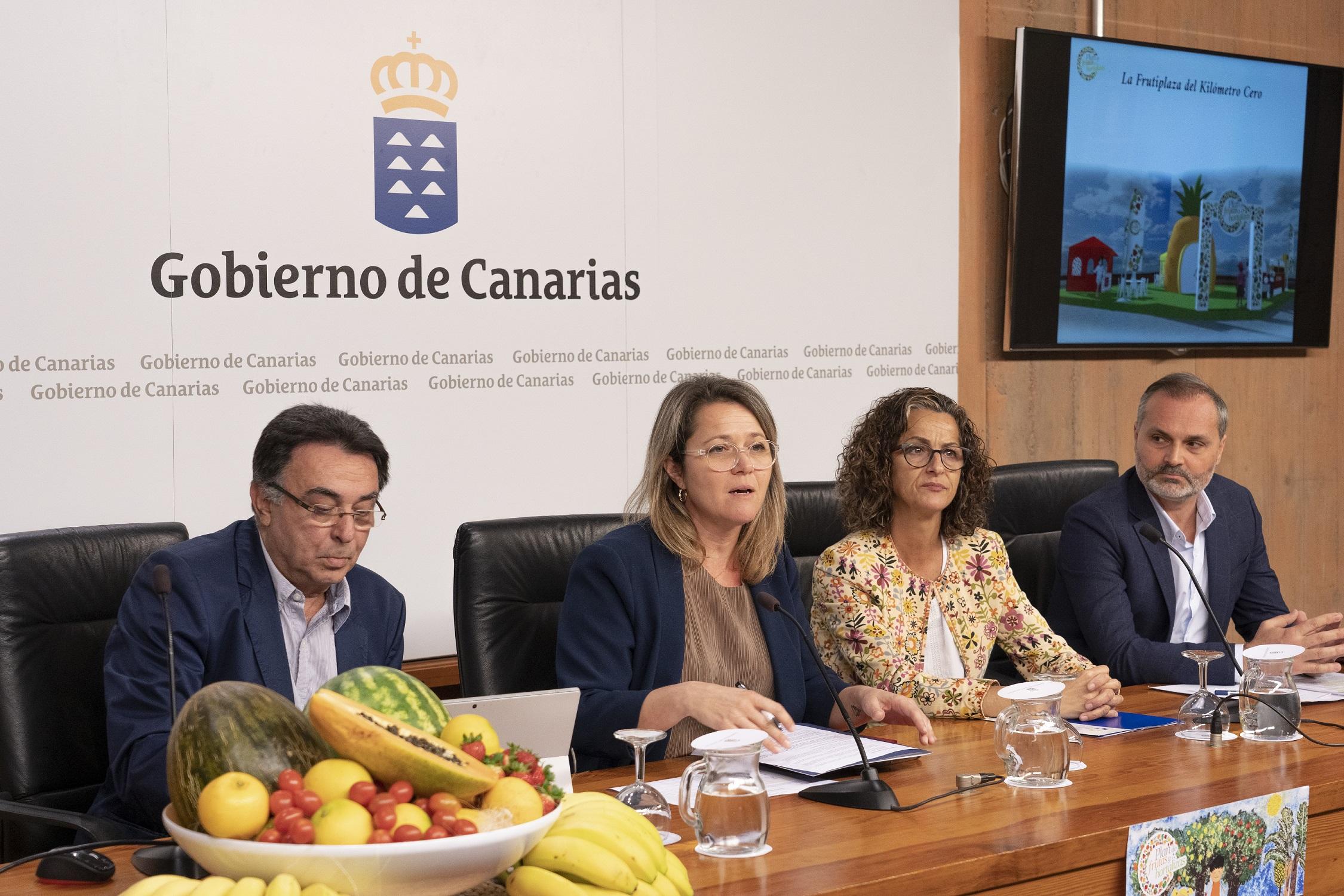 El plan canario sobre consumo de frutas y verduras en los colegios llegará este curso a 86.207 escolares