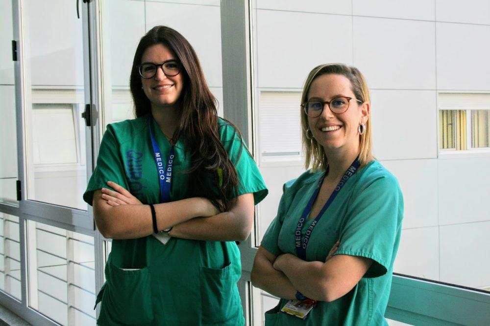 Residentes de cirugía del Hospital de La Candelaria ganadoras de la beca de excelencia