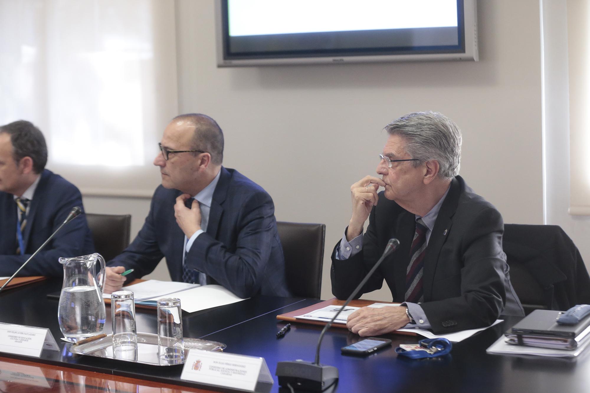 Julio Pérez en la Conferencia Sectorial para asuntos de la Seguridad Nacional