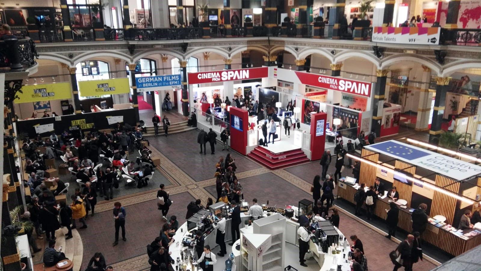 Mercado profesional de la Berlinale en la edición de 2019