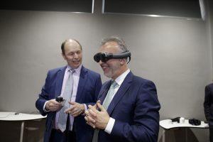 Gobierno canario y EON Reality implantan en el César Manrique el primer Centro de Realidad Virtual y Aumentada