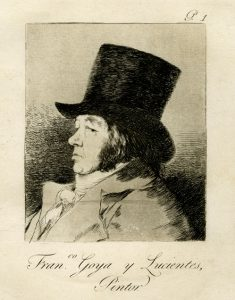 'Goya y otros grandes grabadores'