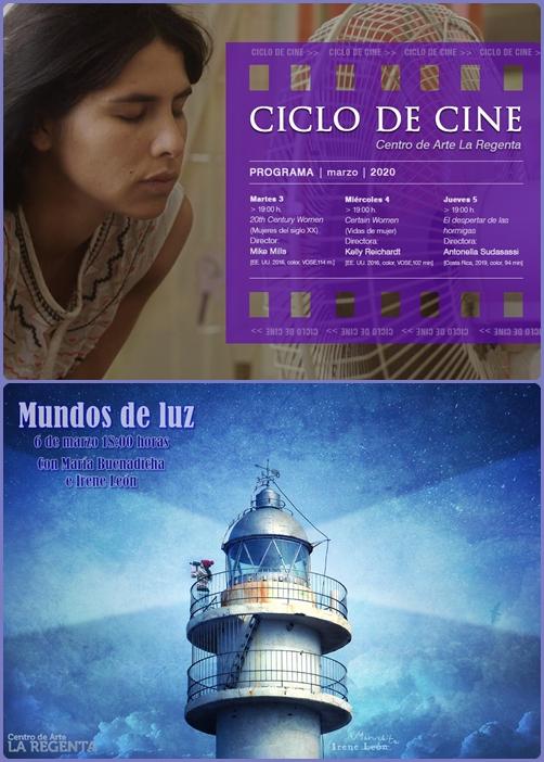Ciclo de cine y Mundos de Luz