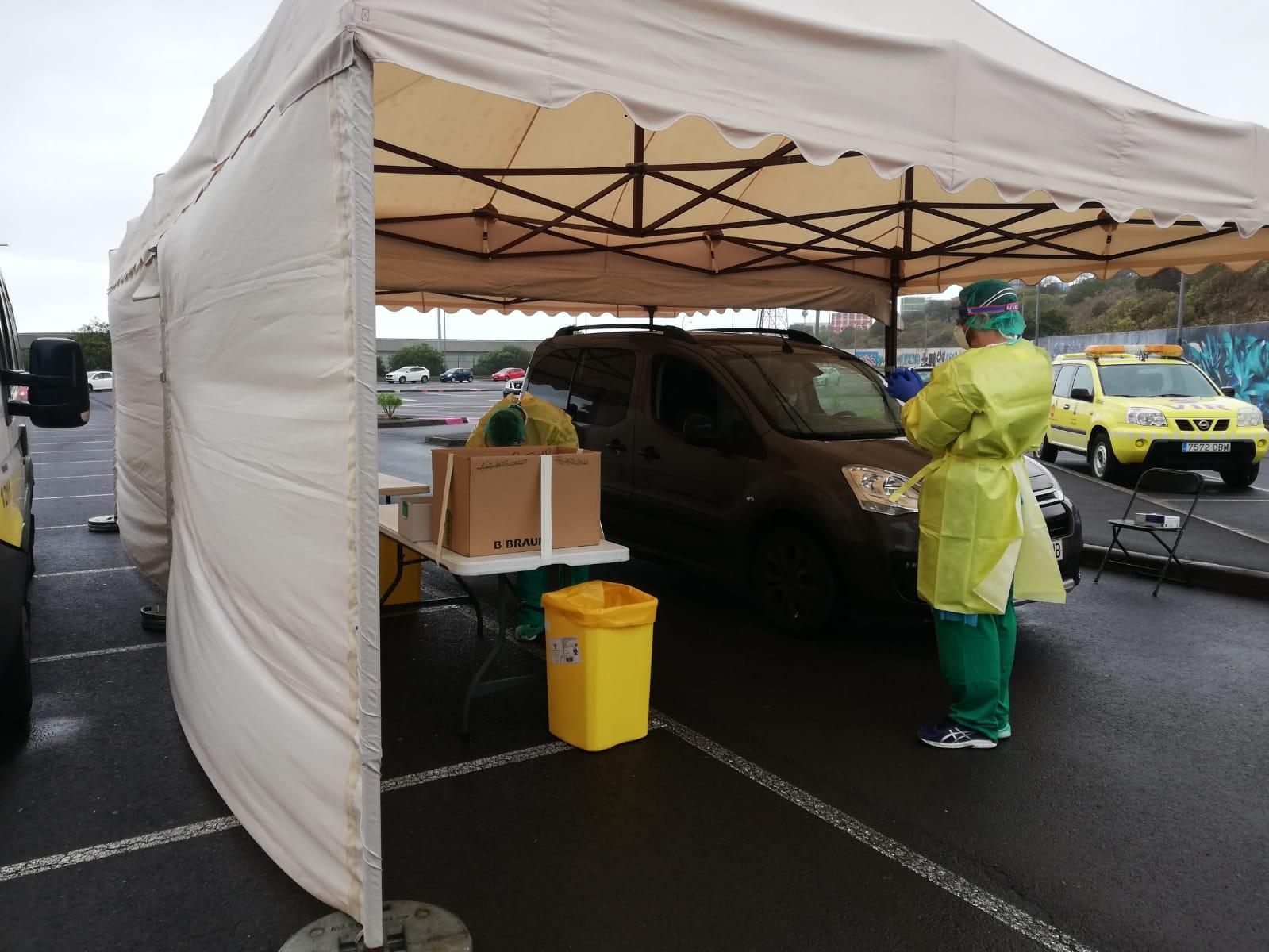 Sanidad habilita un punto de recogida de muestras en Tenerife