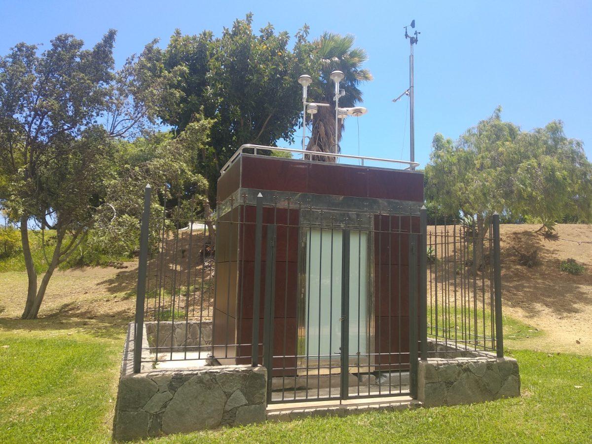 Estación de medición de la calidad del aire
