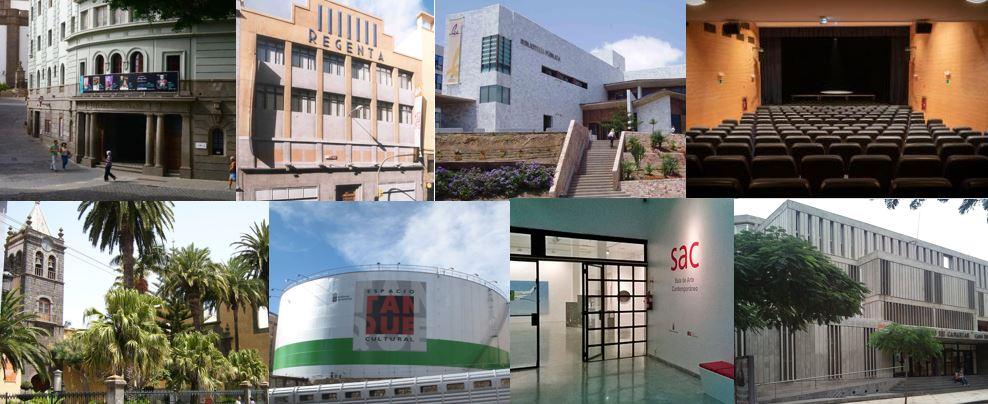 Espacios culturales del Gobierno de Canarias
