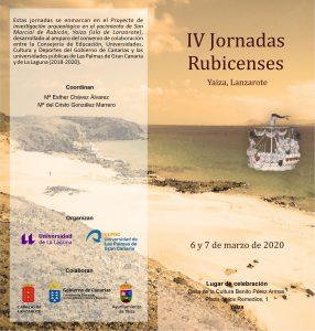 IV Jornadas Rubicences