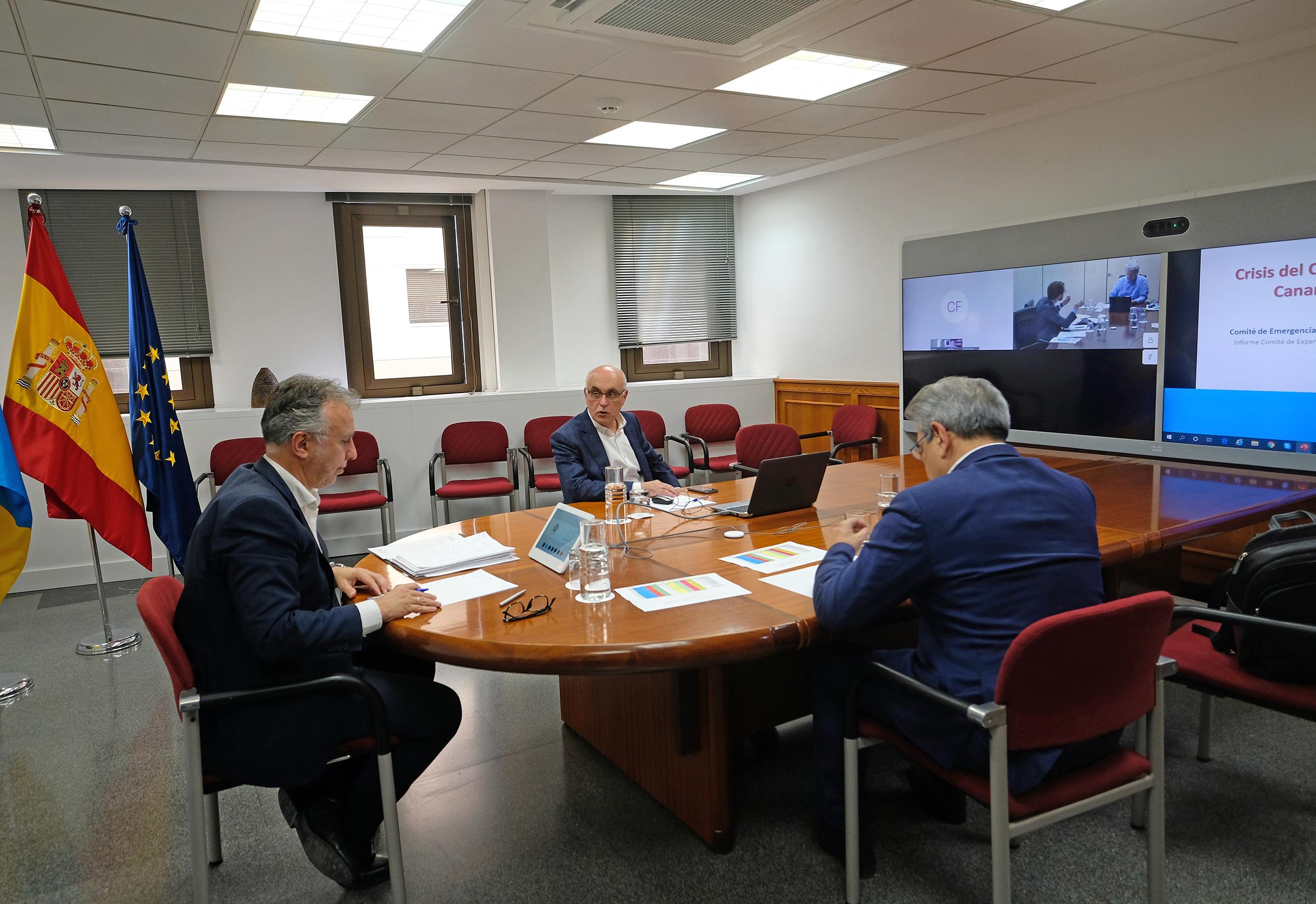 Reunión del Comité de Gestión de Emergencia Sanitaria