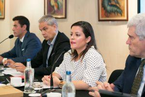 Yaiza Castilla presidió el Consejo Canario de Turismo
