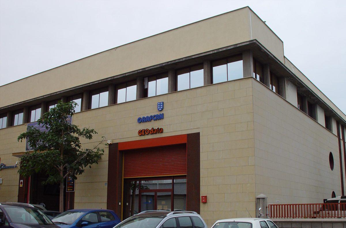 Sede de la empresa Grafcan
