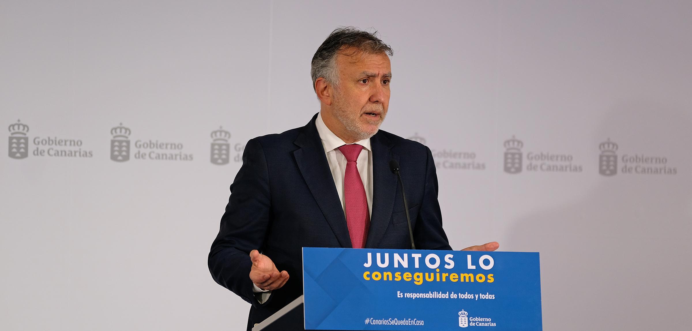 Comparecencia del presidente de Canarias
