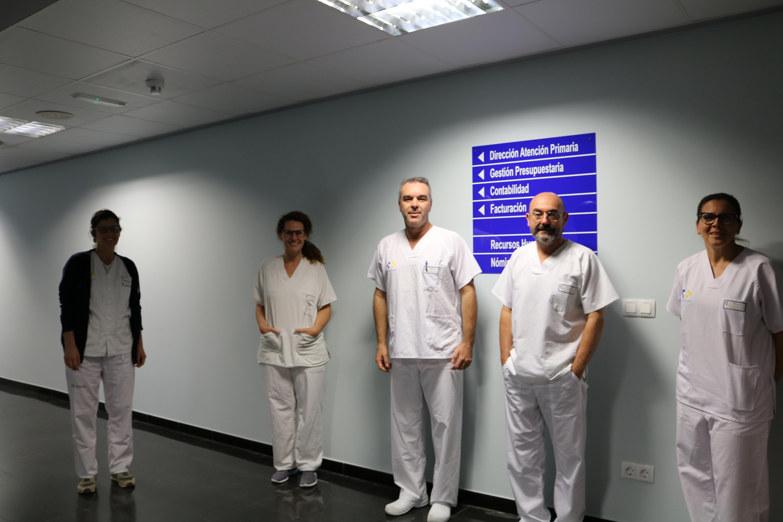 Equipo sanitario de AP de Lanzarote