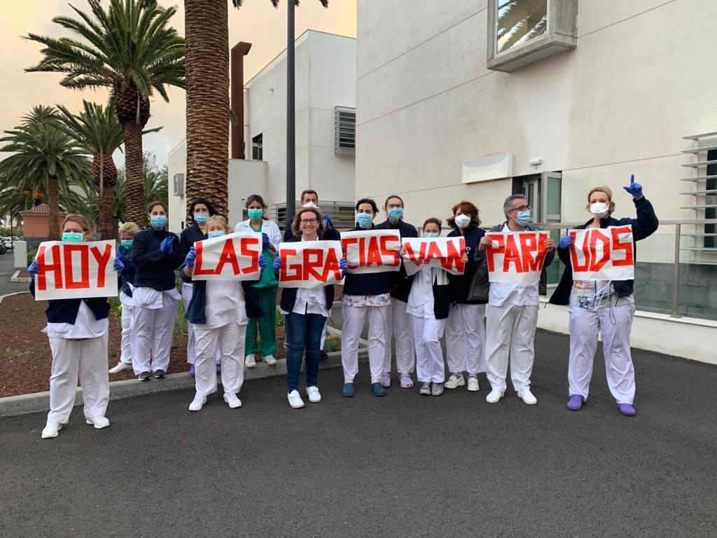 Profesionales de Atención Primaria de Tenerife