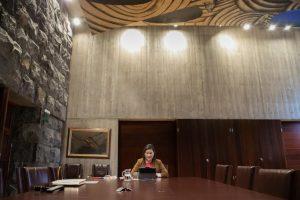 Yaiza Castilla compareció en el Parlamento de Canarias.