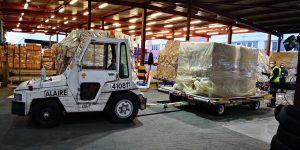 Llegan dos nuevos cargamentos con 58.200kitsdiagnósticos y 1,5 millones de mascarillas adquiridos por Canarias