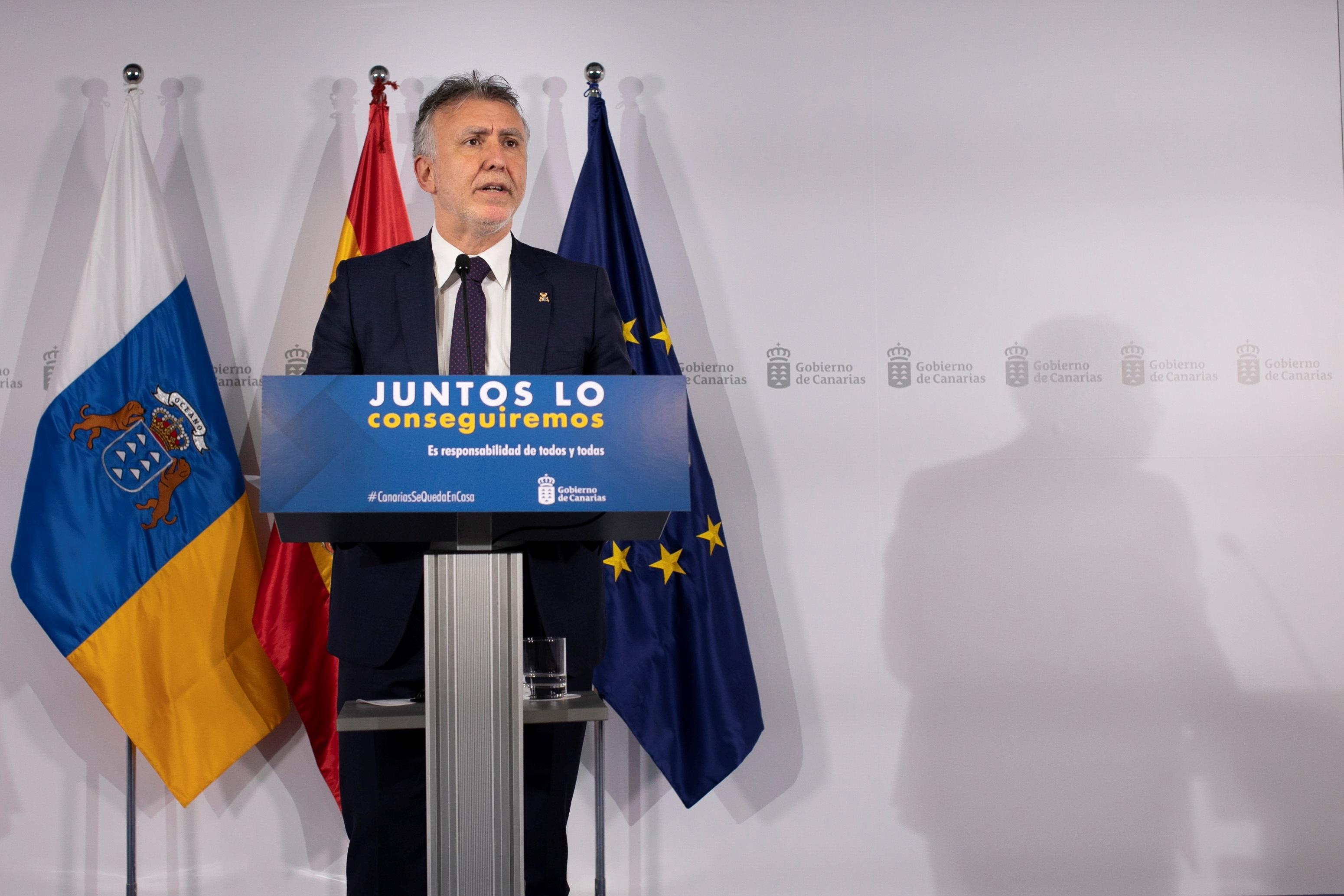 Gobierno de Canarias comparecencia Ángel Víctor Torres