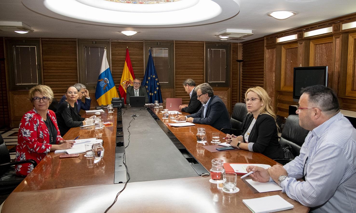 Imágenes de la reunión