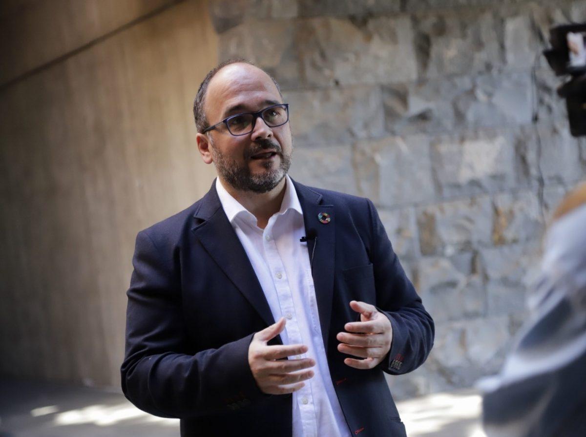 El consejero José Antonio Valbuena