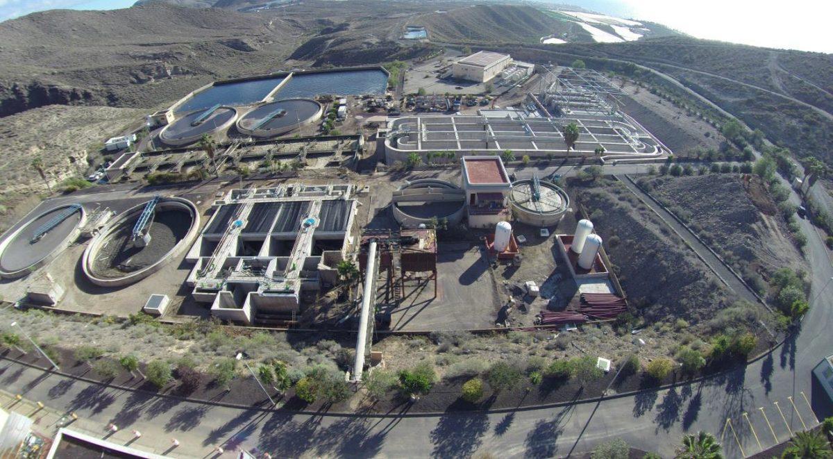 El Gobierno de Canarias entrega al Cabildo de Tenerife las obras del sistema de depuración Adeje-Arona