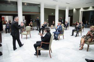 Amplio consenso en la firma del Pacto para la reactivación