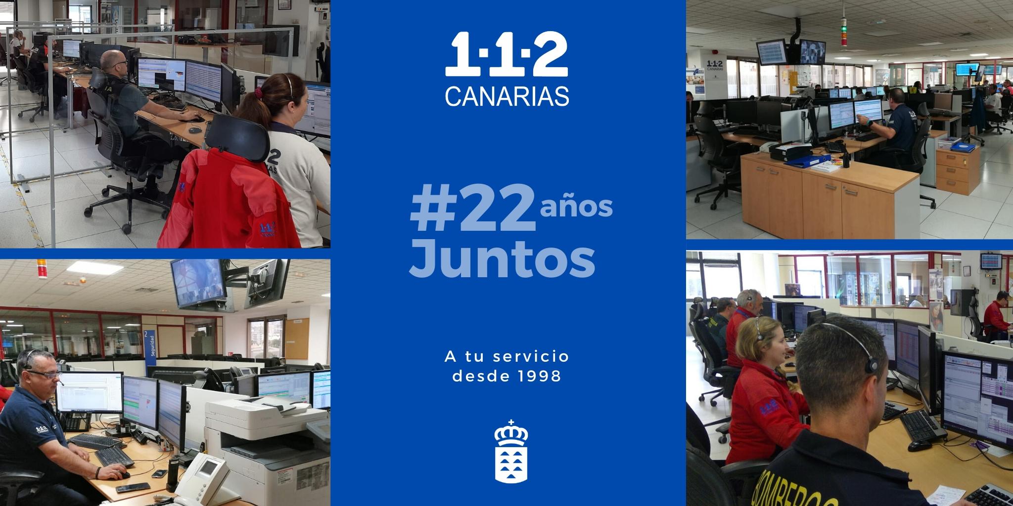 22 Aniversario 1-1-2 Canarias