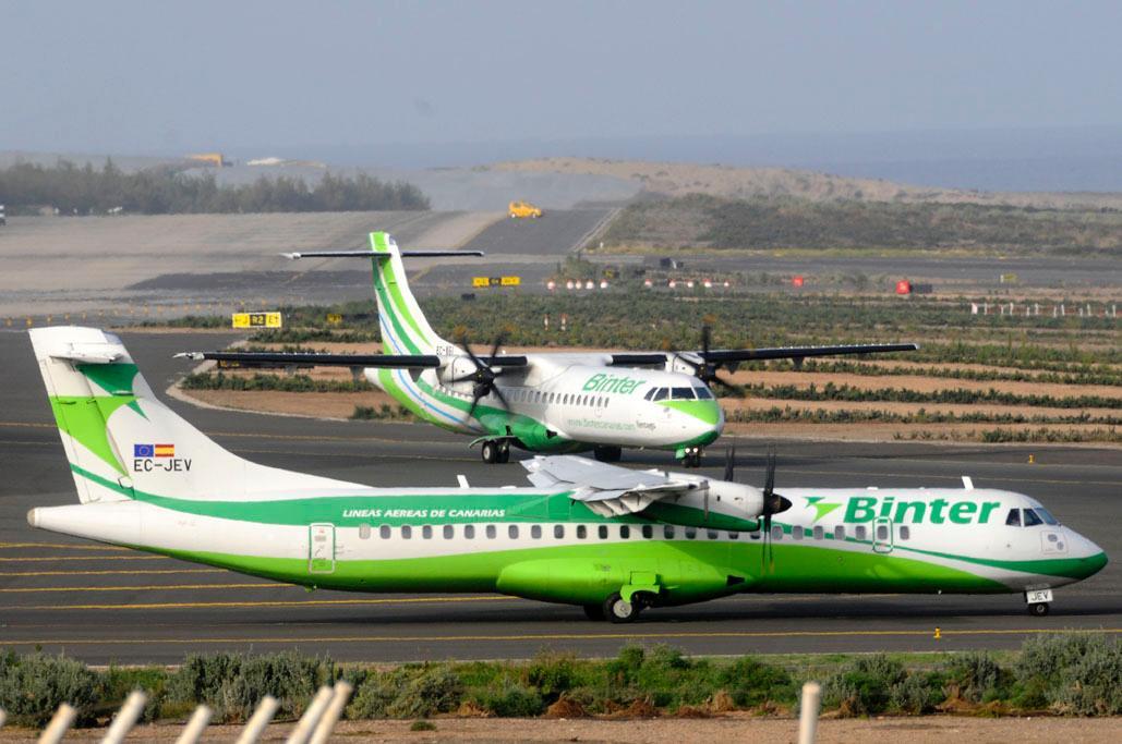 El Gobierno y Binter amplían las conexiones aéreas interinsulares para ajustarlas a la reactivación económica