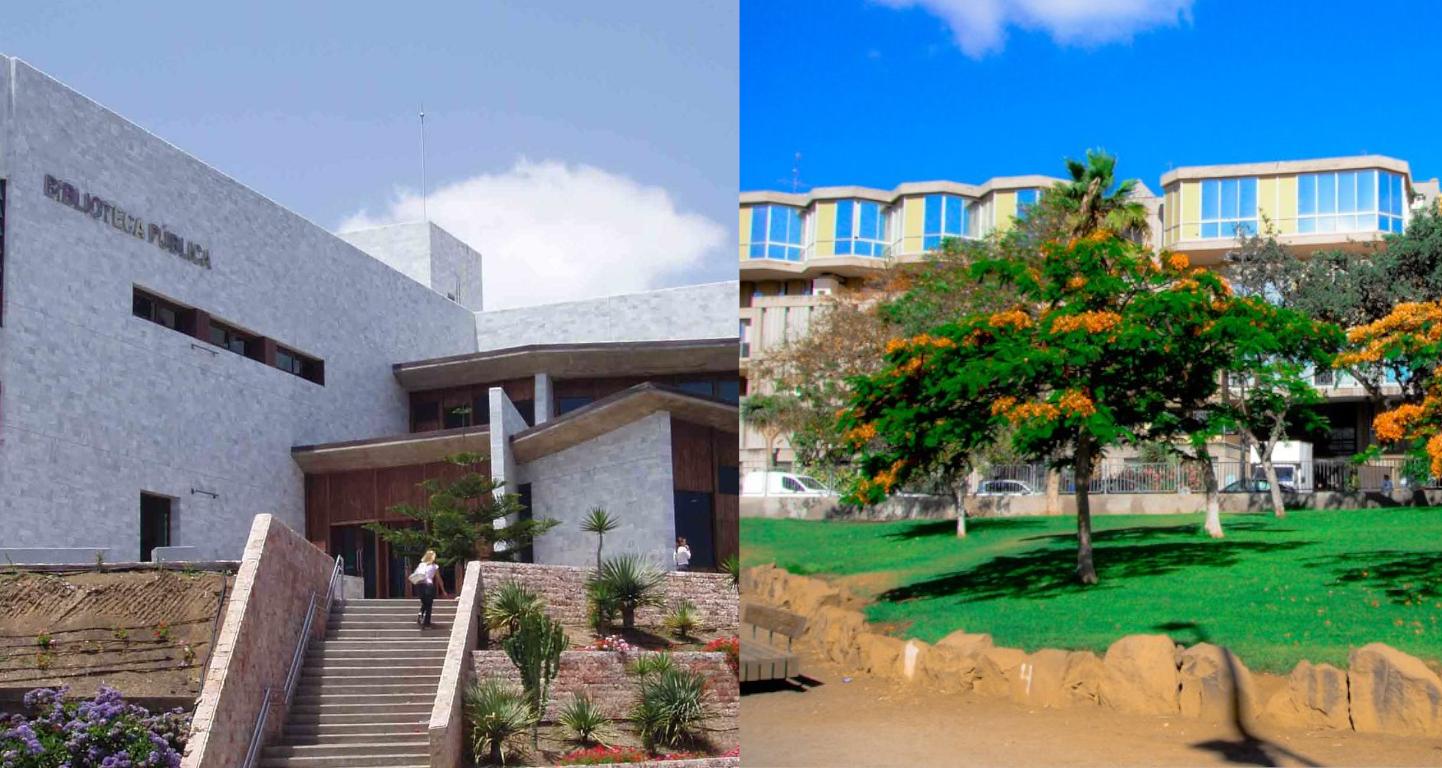 Bibliotecas Públicas del Estado en Las Palmas de Gran Canaria y Santa Cruz de Tenerife