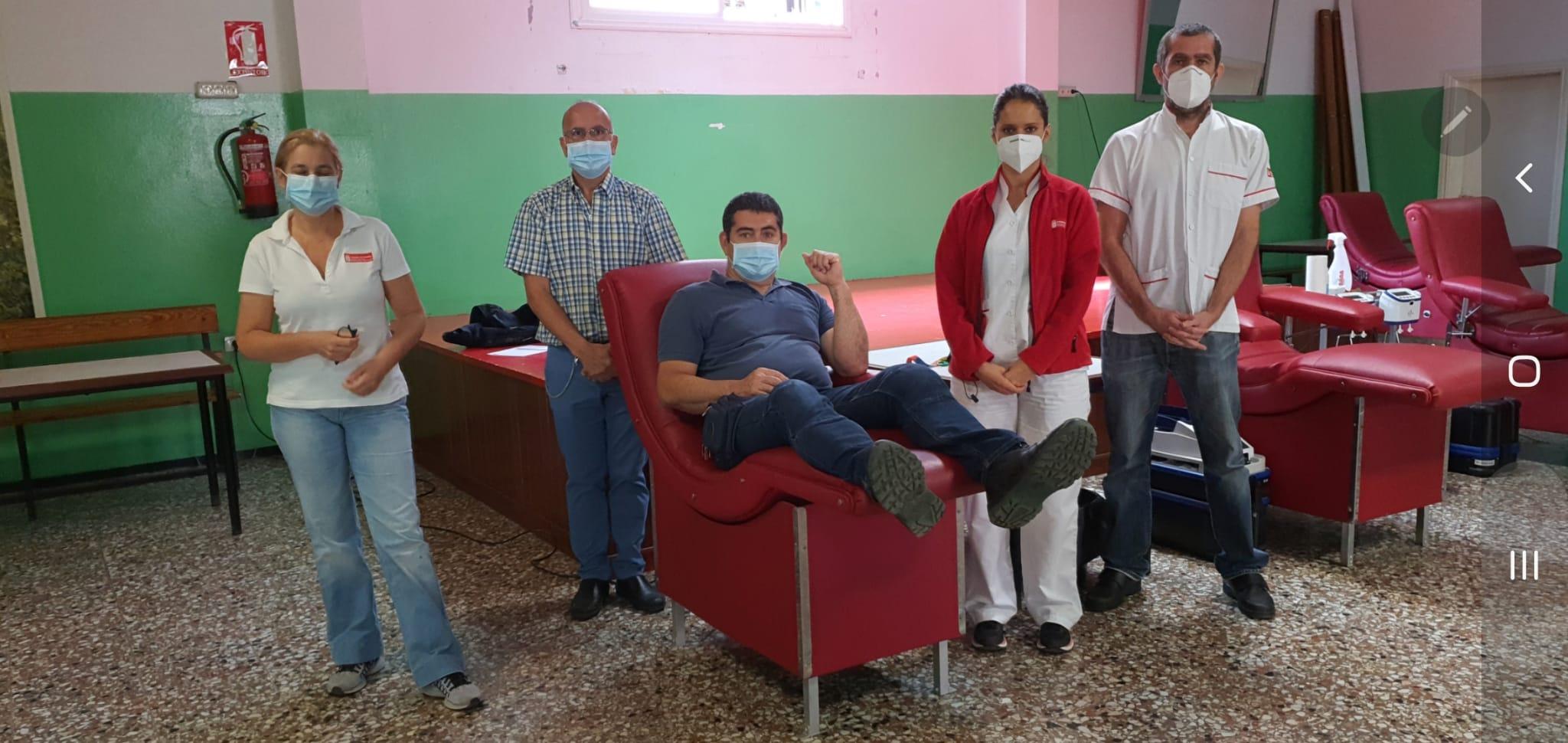 Donantes en Lomo Los Frailes