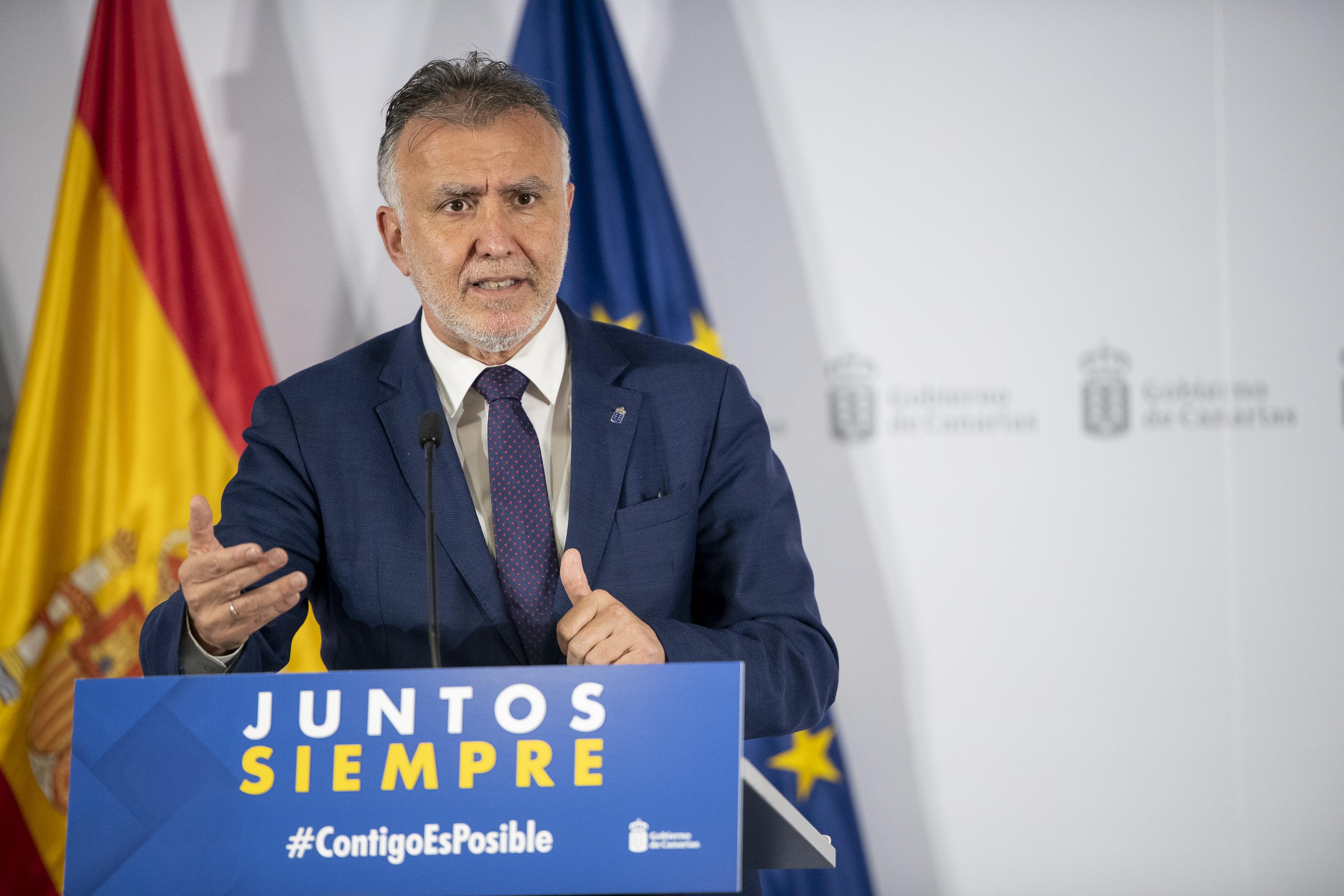 Gobierno de Canarias Ángel Víctor Torres