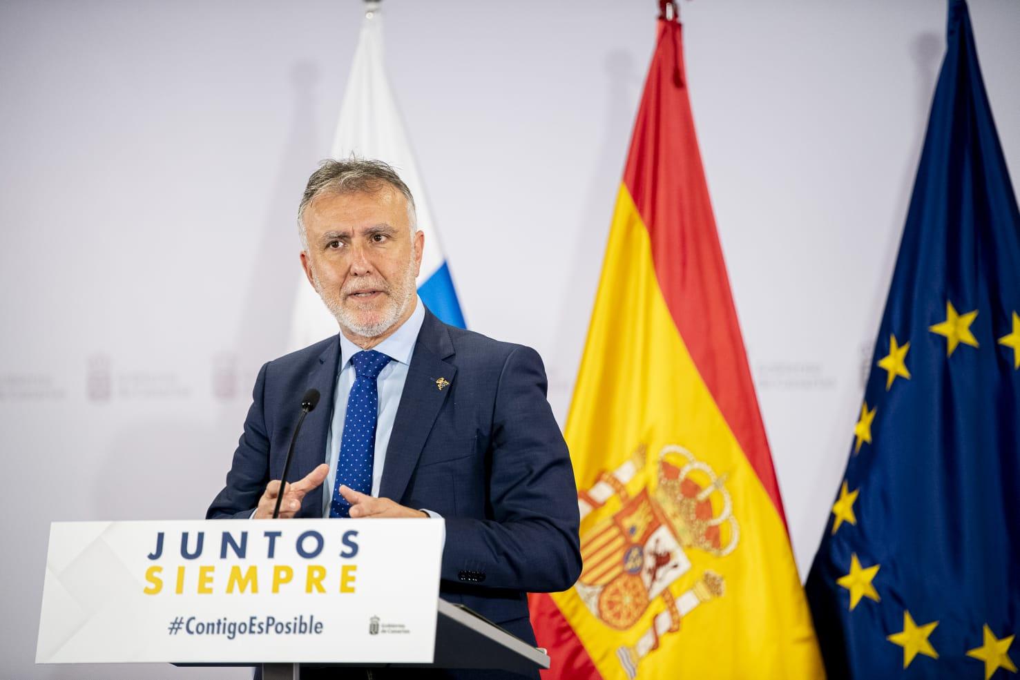 Gobierno de Canarias comparecencia