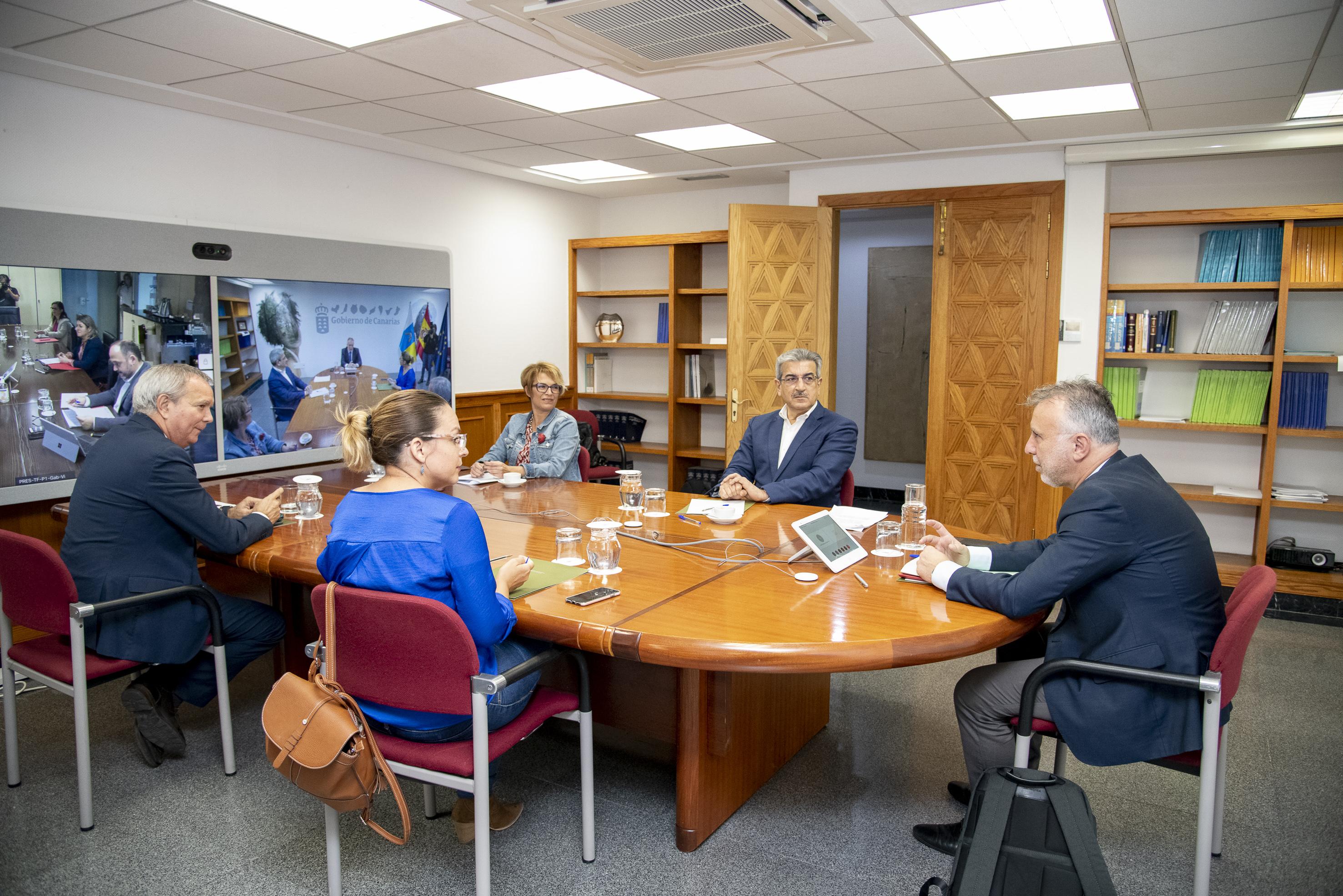 Reunión del Consejo de Gobierno en Gran Canaria