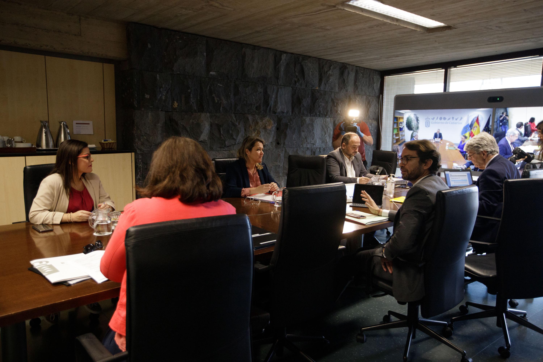 Reunión del Consejo de Gobierno en Tenerife