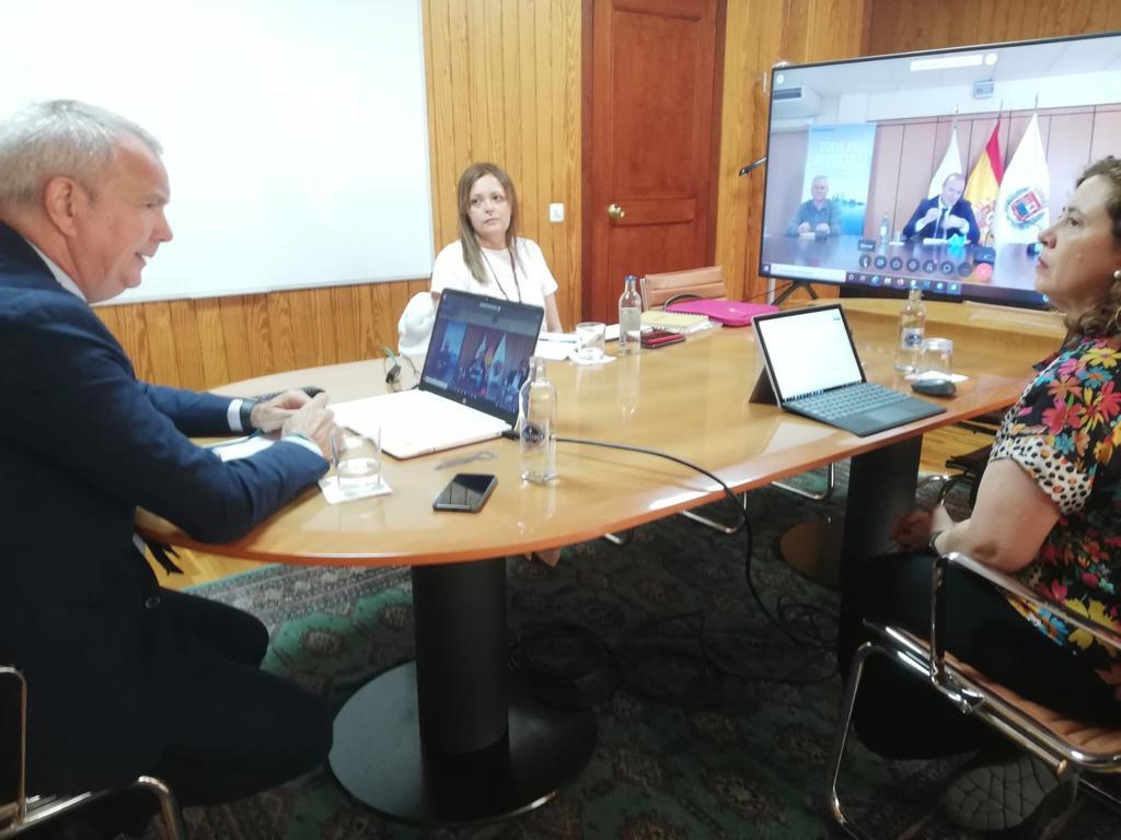 El Gobierno canario y el Ayuntamiento de Las Palmas de Gran Canaria impulsan las obras de ampliación de carriles